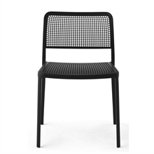 Audrey - Painted frame BLACK - Piero Lissoni - Kartell