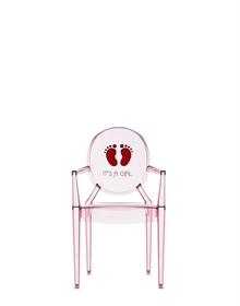 Lou Lou Ghost -  It´s a girl - Børnestol - Philippe Starck - Kartell