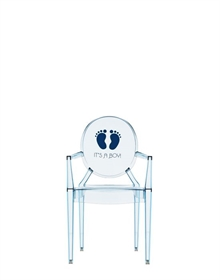 Lou Lou Ghost -  It´s a boy - Børnestol - Philippe Starck - Kartell