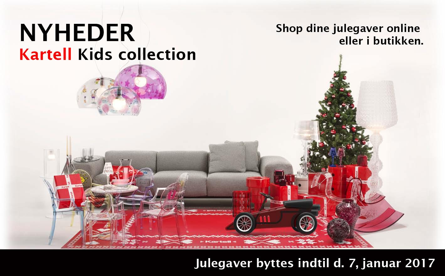 Shop kartell m bler online eller i vores fysiske butik i for Outlet kartell online