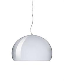 Shop kartell lamper bourgie fly ge taj taj mini og toobe m m designet af ferruccio laviani for Lampe salon fly