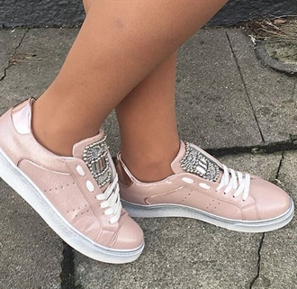 Almo sneakers i rosa